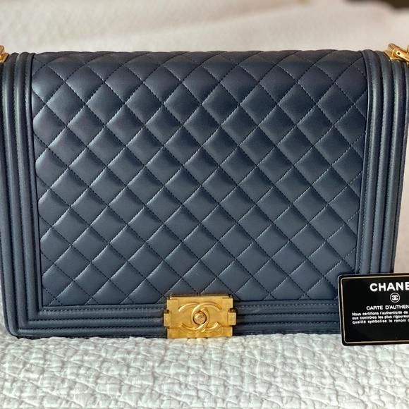 CHANEL Handbags - X-Large Boy Bag Pristine Condition